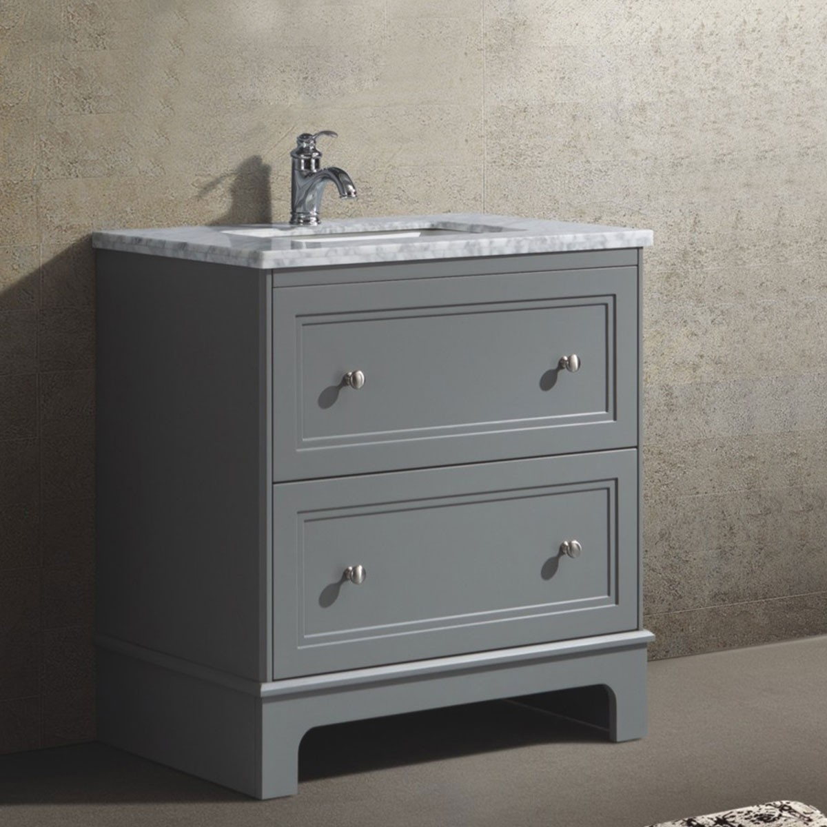 31 In. Freestanding Bathroom Vanity (BR8002-V)