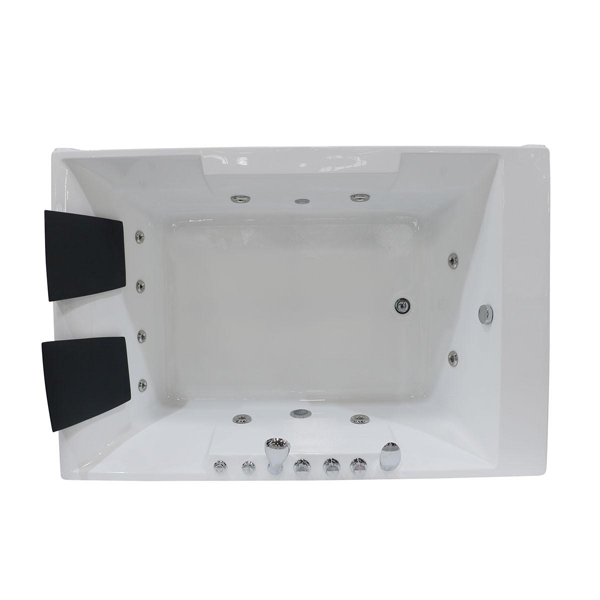 Decoraport 72 x 48 In Whirlpool Tub (DK-Q367)