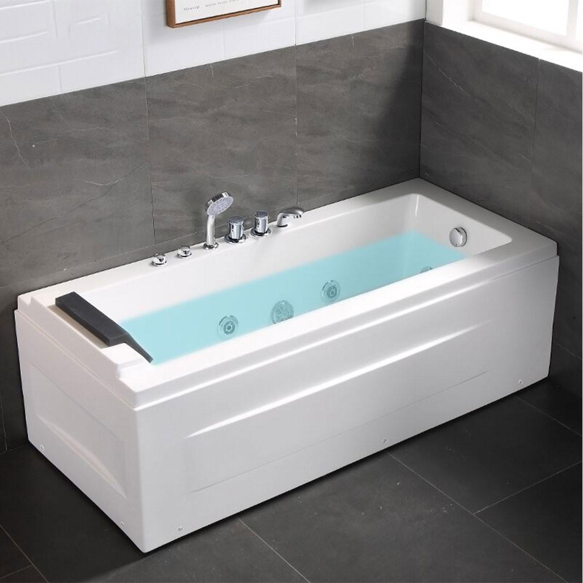 Decoraport 59 x 30 In Whirlpool Tub (DK-Q351)
