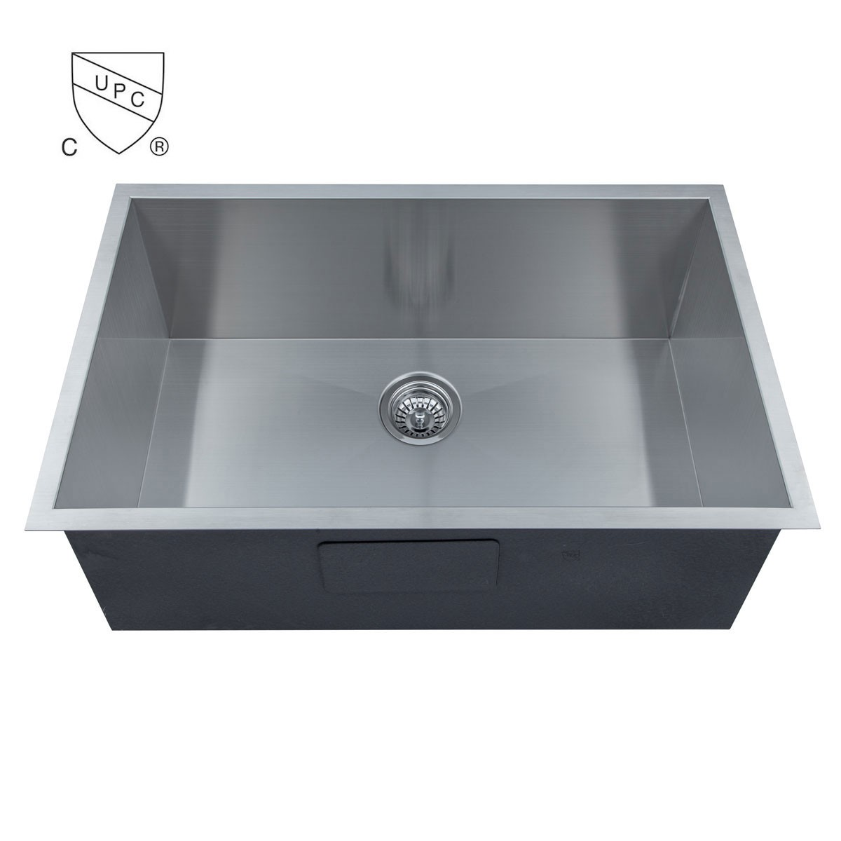 Stainless Steel Handmade Kitchen Sink (AS3018-R0)