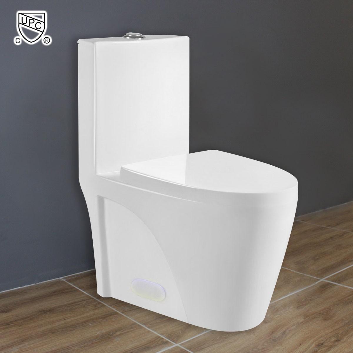 CUPC Dual Flush Water Saving Ceramic One-piece Toilet (DK-ZBQ-12011)