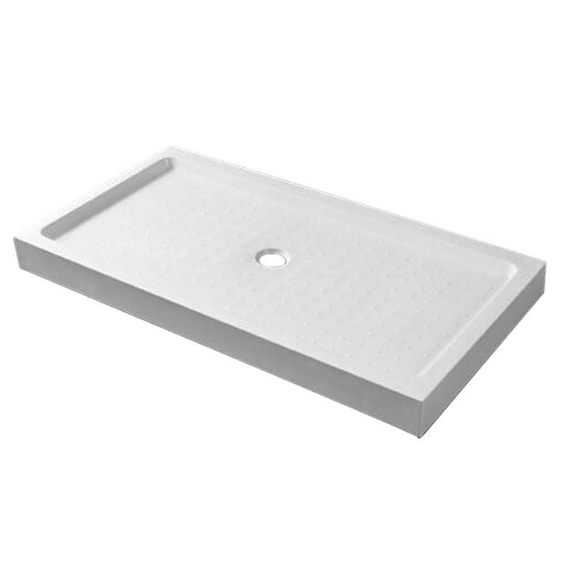36 x 48 ln White Acrylic Shower Base (DK-WX-07)