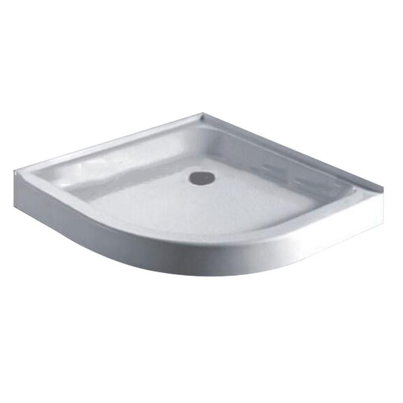 36 x 36 In White Round Shower Base (DK-WX-01)