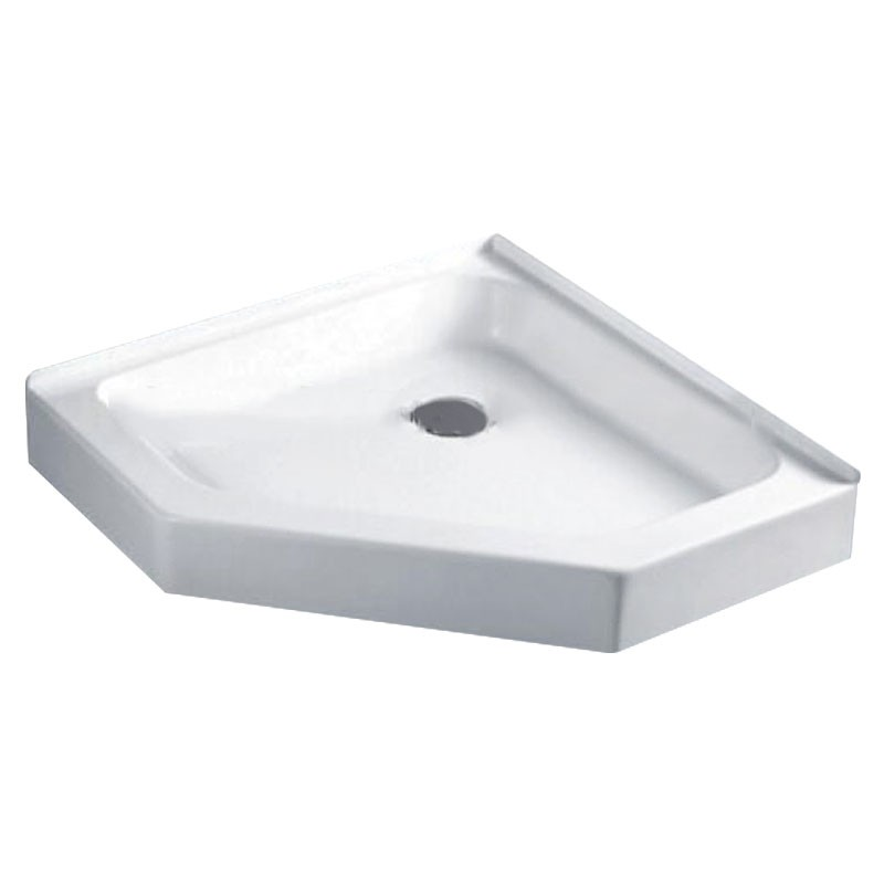 38 x 38 In White Neo-angle Shower Base (DK-WX-01A)