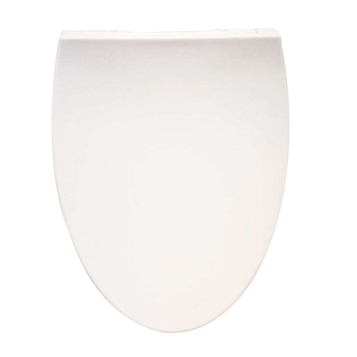 PP White Round Closed Front Soft Close Toilet Seat with Cover (DK-CL-058)