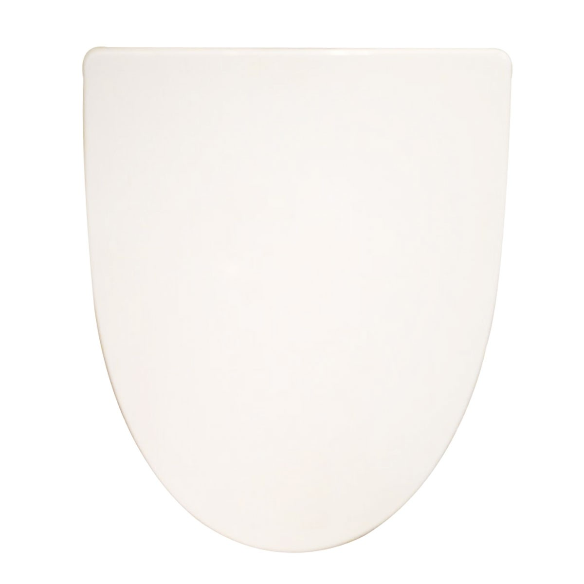 PP White Front Round Soft Close Toilet Seat with Cover (DK-CL-117)