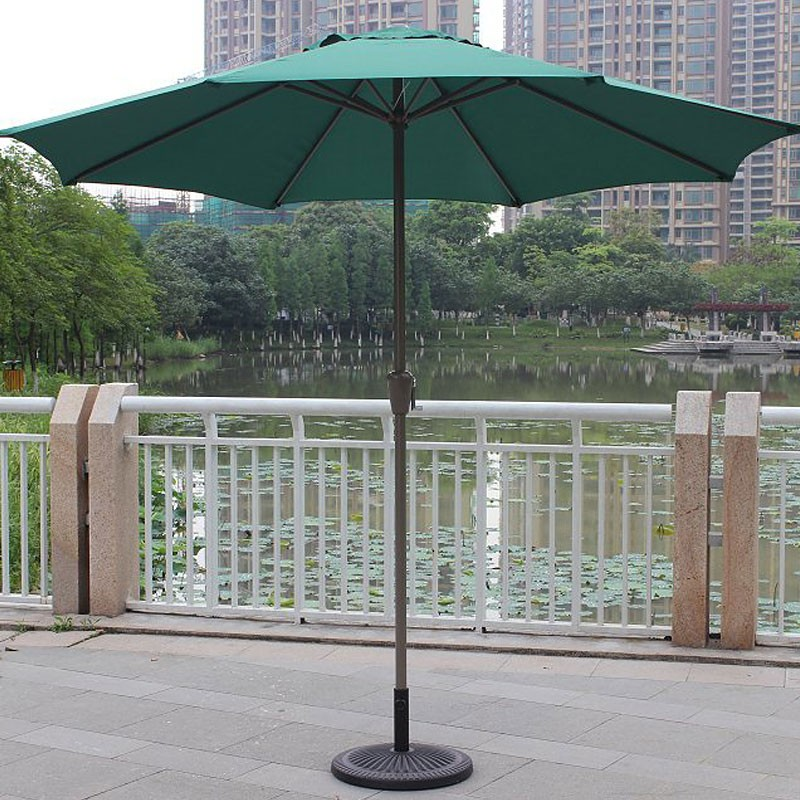 8.9-ft Outdoor Wind Resistant Patio Umbrella (902 IR/AL-2)
