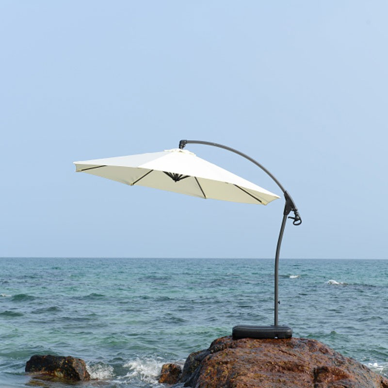 9.8-ft  Deluxe Polyester  Offset Patio Umbrella (911AL-2)