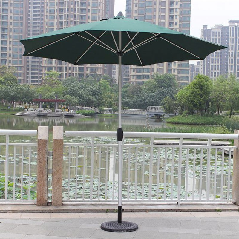 Patio Umbrella For Windy Area: 8.9-ft Outdoor Wind Resistant Patio Umbrella (913AL-1