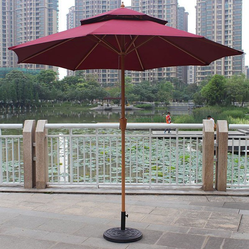 8.9-ft Outdoor Wind Resistant Patio Umbrella (913IR-2)