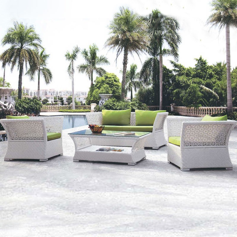 Wicker Patio Seating Set with Cushion (JMS-823)