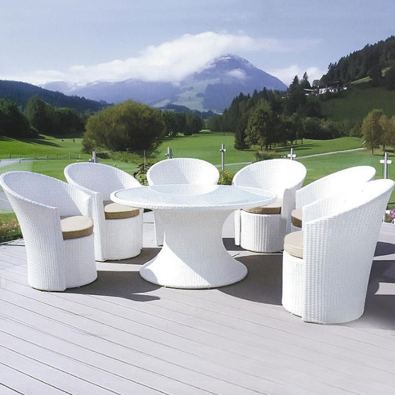 7 Pieces Dining Set: Dining Table, 6 Chairs(JMS-6060)
