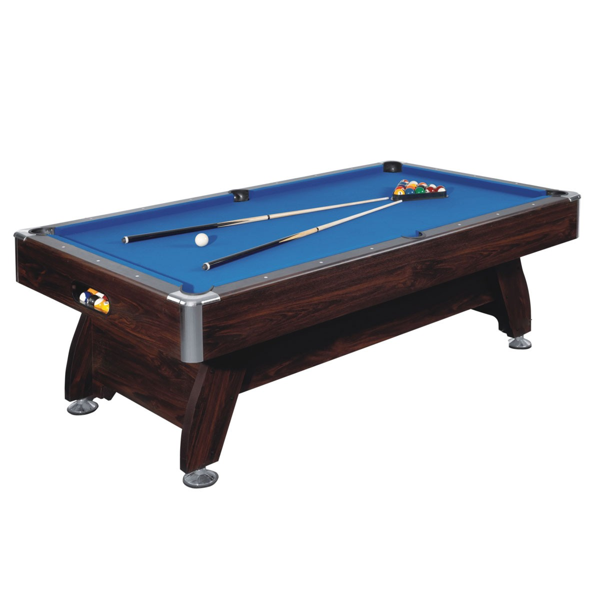 8 foot pool table with ball return system and accessories zlb p02 decoraport canada - Billiard table accessories ...