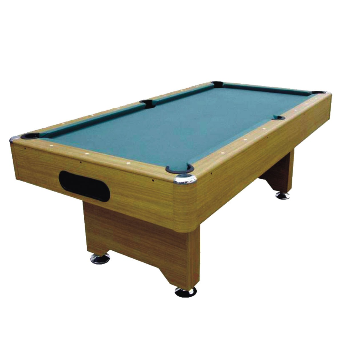 8 Foot Pool Table with Ball Return System and Accessories (ZLB-P12)