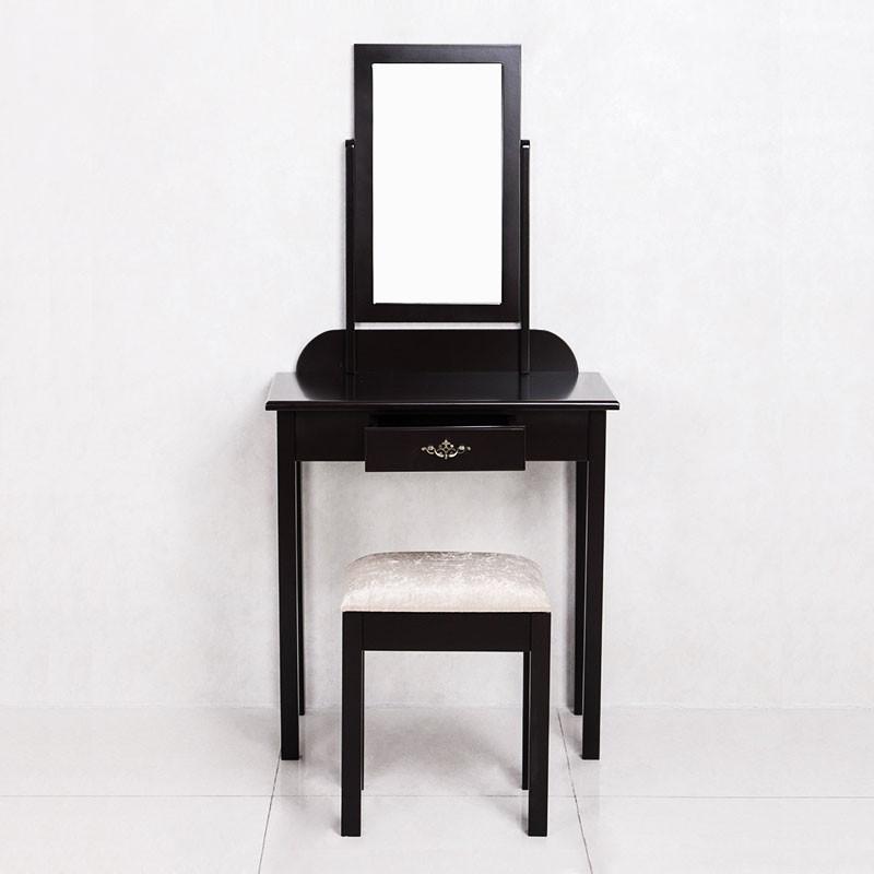 Bedroom Makeup Vanity Set with Mirror and Stool (JI3138)