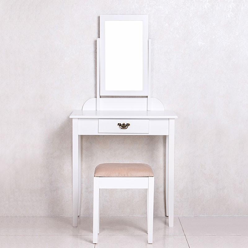 Bedroom makeup vanity set with mirror and stool ji3241 for Bedroom vanity canada