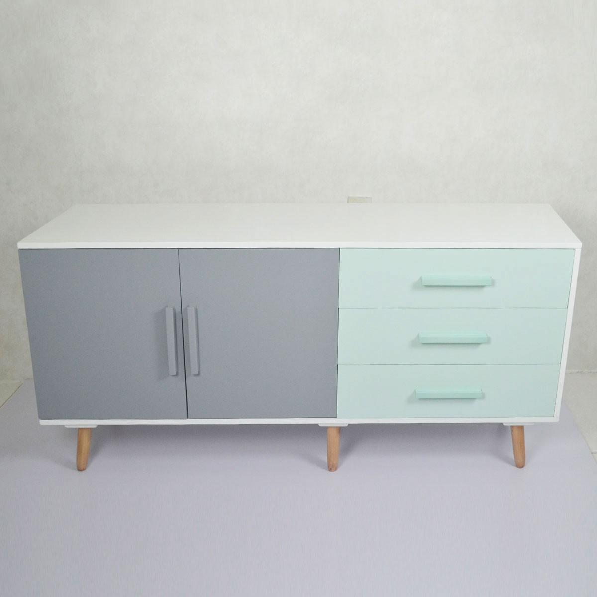 63.0''W Wood TV Stand (JI3277)