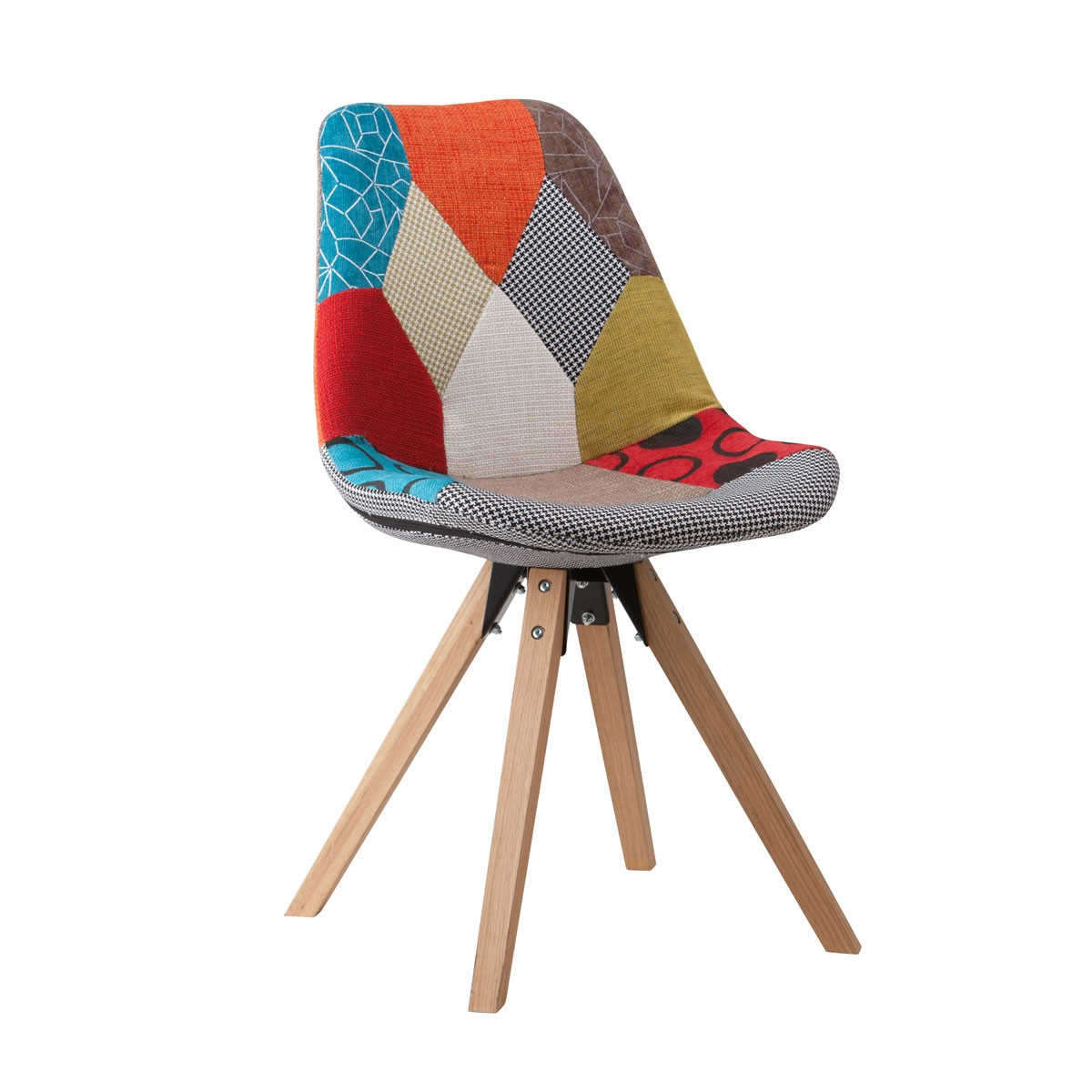 Upholstered Side Chair with Wood Legs - (YMG-BJ9308C-2)