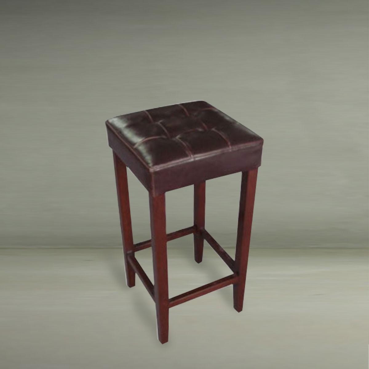 Upholstered Wooden Bar Stool (PJO022)