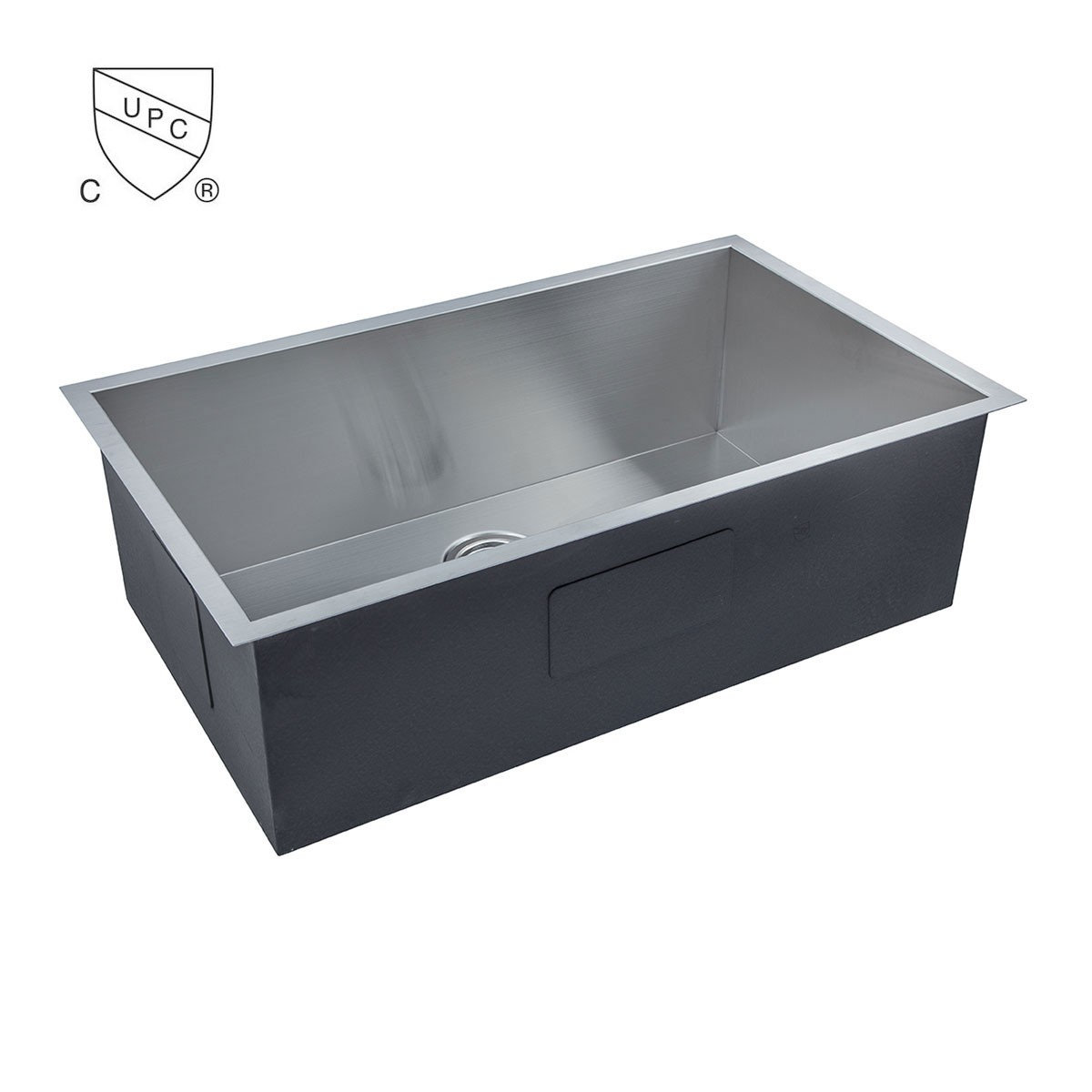 Stainless Steel Handmade Kitchen Sink (AS3219-R0)