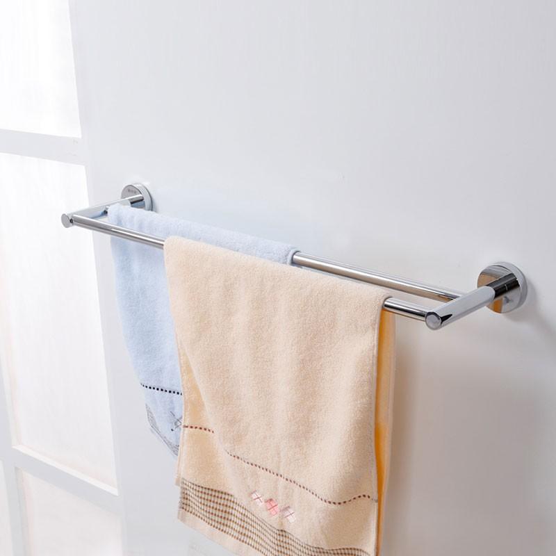 Double Towel Bar 24.0 Inch - Chrome Brass (2810)