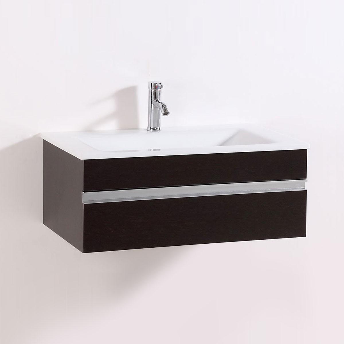 32 In. Wall Mount Bathroom Vanity (DK-TH9021D-V)