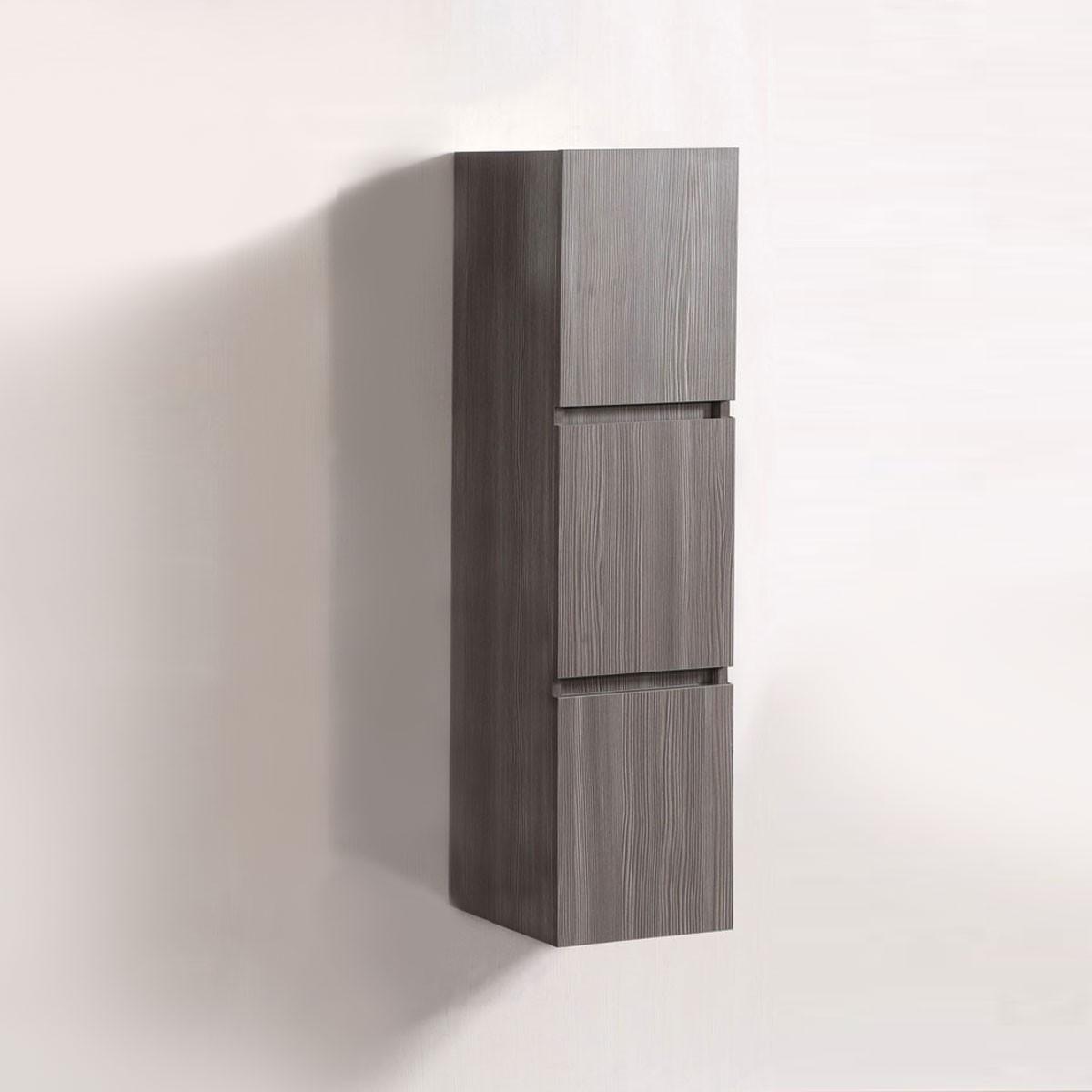14 x 47 In. Wall Mount Bathroom Linen Cabinet (DK-T5167A-S)