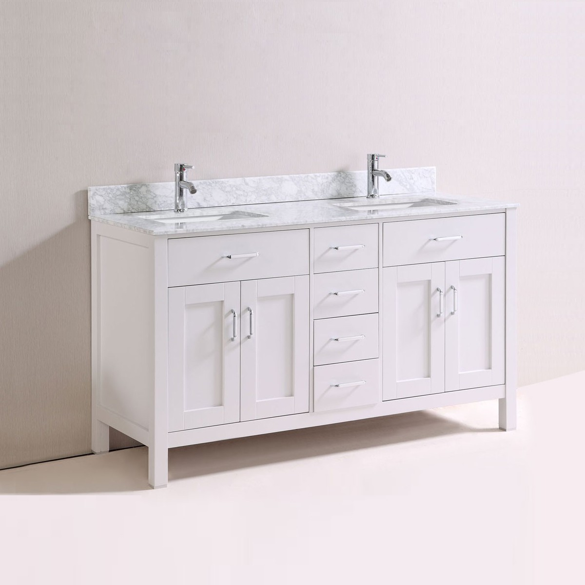 60 In. Freestanding Bathroom Vanity (DK-T9150-60-V)