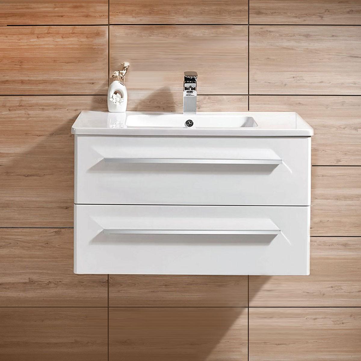 31 In. Wall Mount Bathroom Vanity (DK-606800-V)