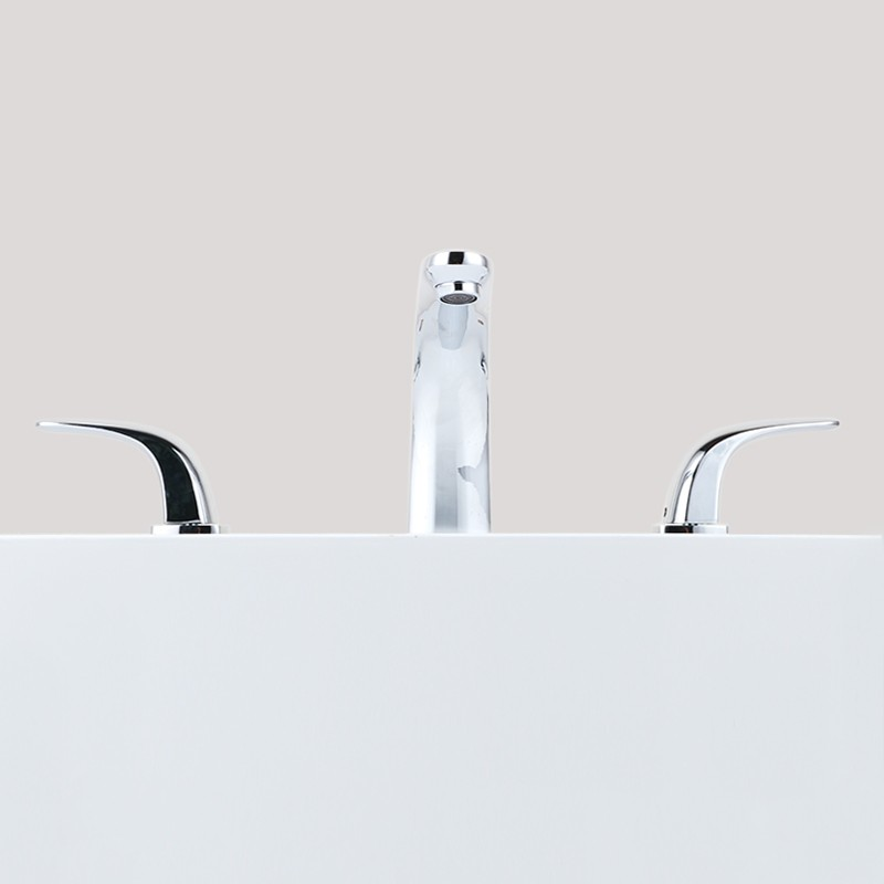 Basin&Sink Faucet - Lead Free Brass with Chrome Finish (DK-YDL-20003CH)