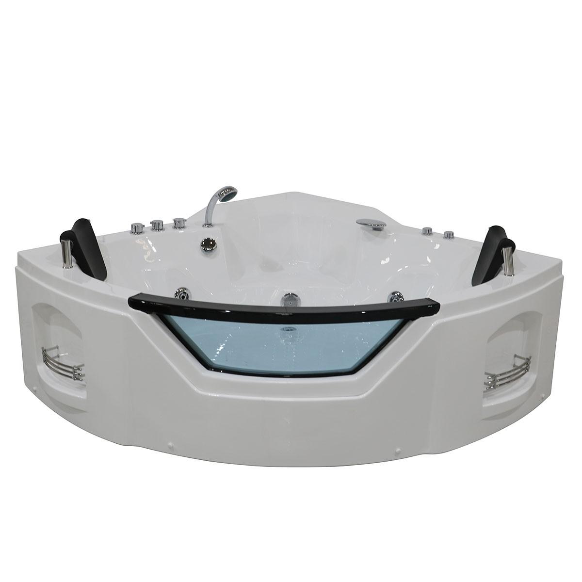 Decoraport 61 x 61 In Whirlpool Tub (DK-Q312N)