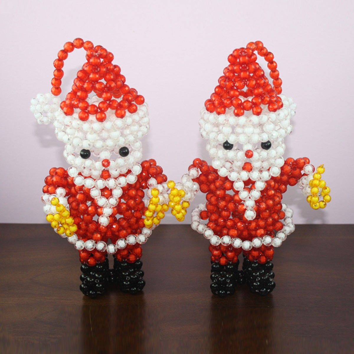Handmade craft by bead/Fancy Santa Claus Shape (DK-CZ07)