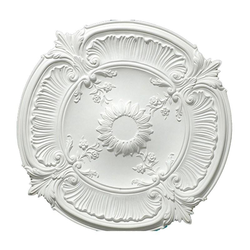 30 ln White Polyurethane Ceiling Medallion (DK-DKM-5005)