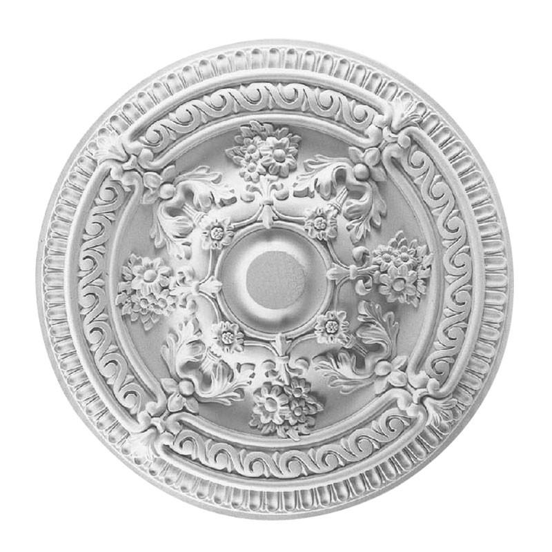 26 ln White Polyurethane Ceiling Medallion (DK-DKM-5008)