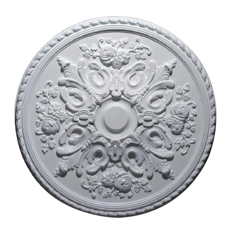 32.3 ln White Polyurethane Ceiling Medallion (DK-DKM-5009)