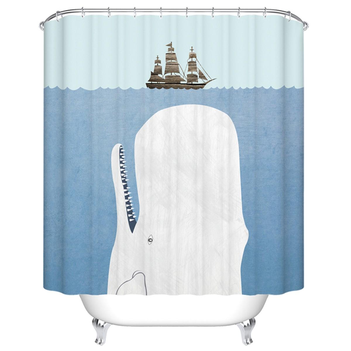 Fashionable Bathroom Waterproof Shower Curtain 70 W X 72 H Dk Yt001 Decoraport Canada