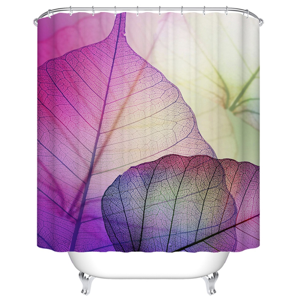 "Fashionable Bathroom Waterproof Shower Curtain, 70"" W x 72"" H (DK-YT020)"