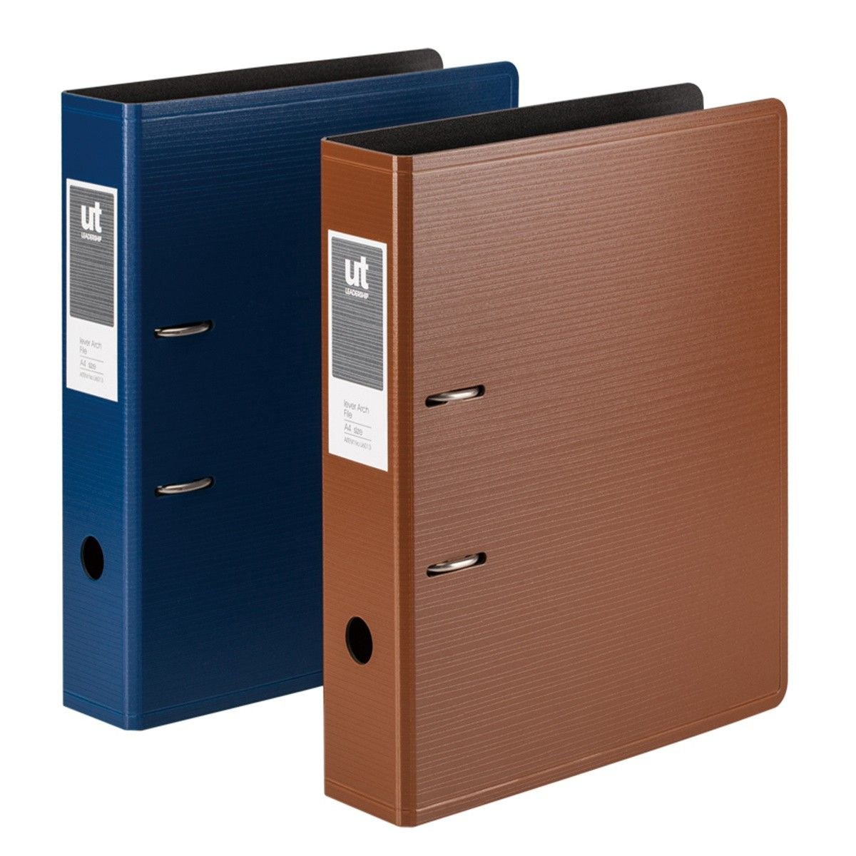 Thickened Three-layered Foamed PP Lever Arch File, A4, Assorted Colours (DK-FAF6013-3)