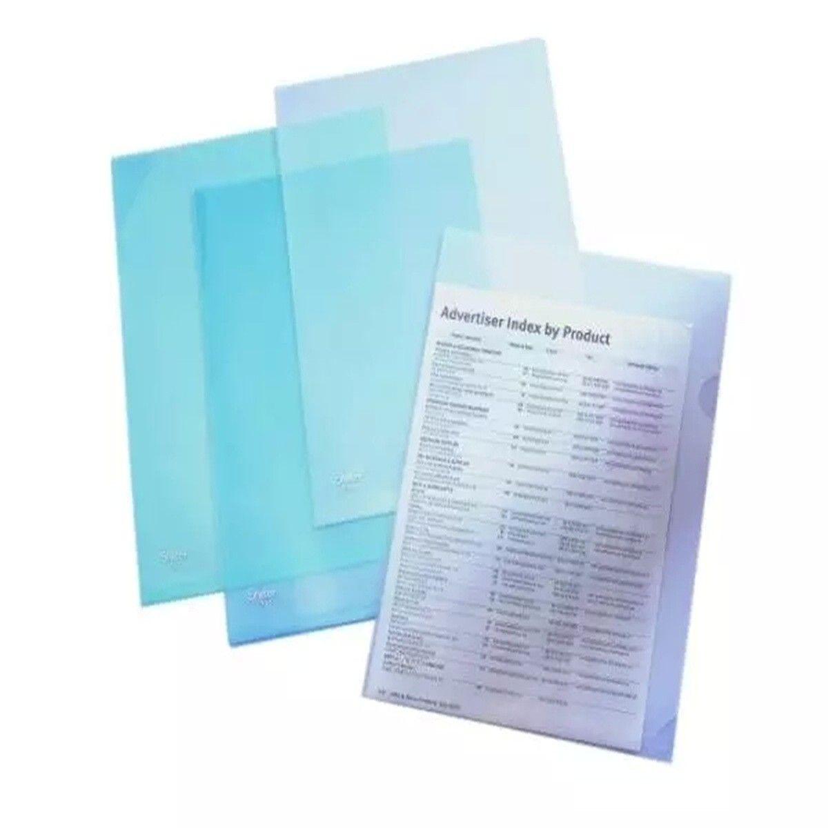 Polypropylene Project Viewers, A4, 10/pack (DK-FRC310)