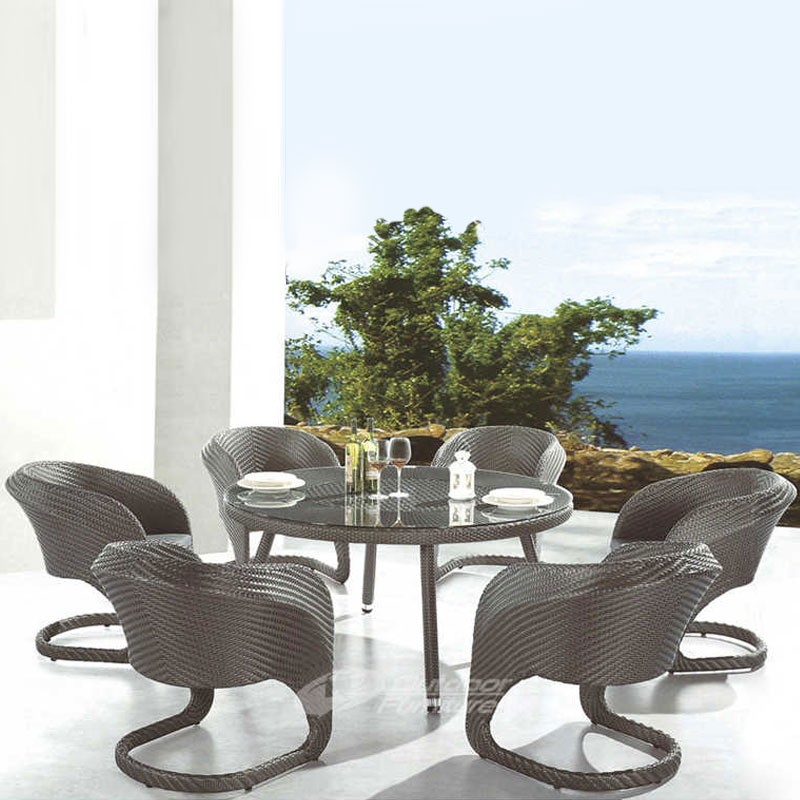 7 Pieces Dining Set: Dining Table, 6 Chairs (JMS-9645)