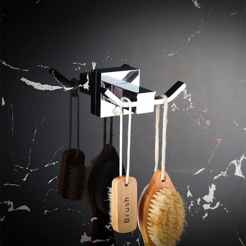 Towel Hook - Chrome Brass (80853)