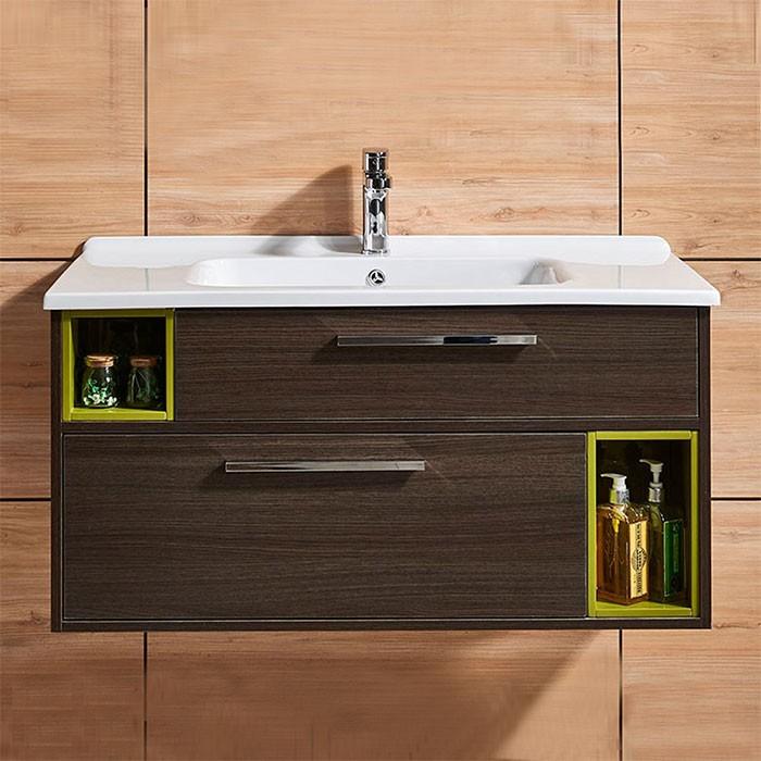 39 In. Wall Mount Bathroom Vanity (DK-660100-V)