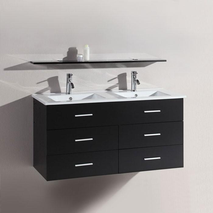 48 In. Wall Mount Bathroom Vanity (DK-T9126B-V)