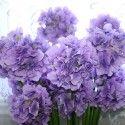"Artificial Hydrangea Flower/2 Heads/Piece - 35"""