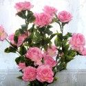 Artificial Rose Flower/5 Heads/Piece - 55""