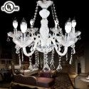 Crystal Built Classic Style 6-Light Chandelier/Diameter 23 Inch (80016)