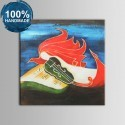 100% Hand Painted Abstract Still-Life Oil Painting on Canvas (DK-JX-YH017)