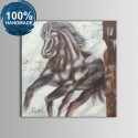 100% Hand Painted Abstract Steed Oil Painting on Canvas (DK-JX-YH03)