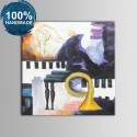 100% Hand Painted Abstract Still-Life Oil Painting on Canvas (DK-JX-YH024)