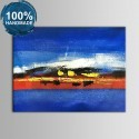 100% Hand Painted Abstract Oil Painting on Canvas (DK-JX-YH025)